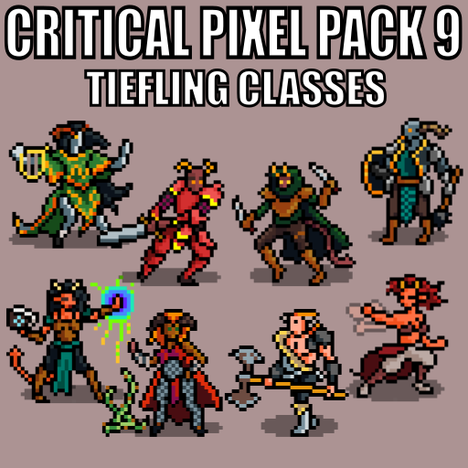 Critical Pixel Pack 9