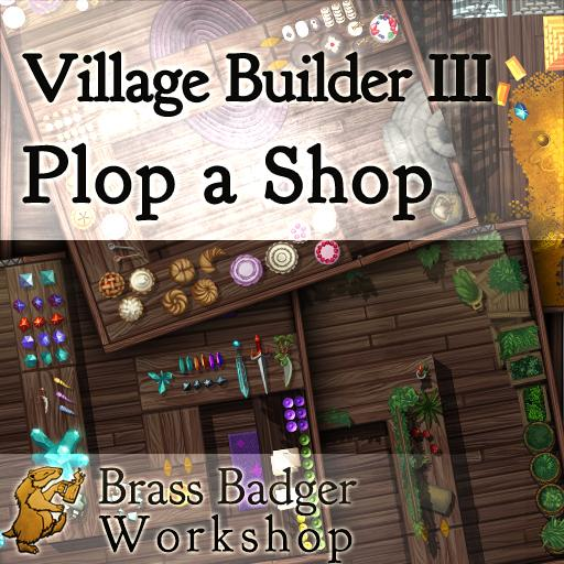 Village Builder III: Plop a Shop