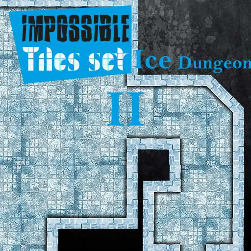 Impossible Tiles Set: Ice Dungeon 2