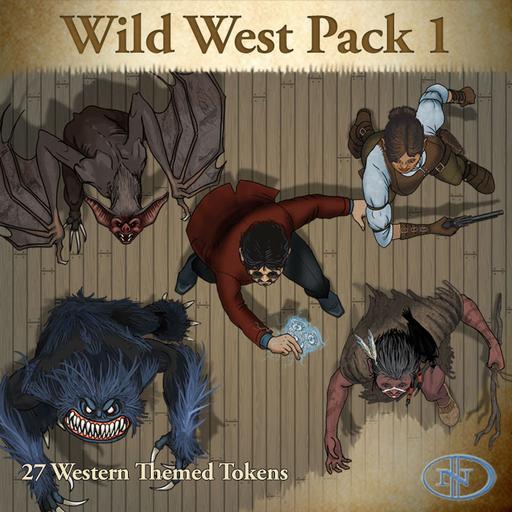54 - Wild West Pack 1