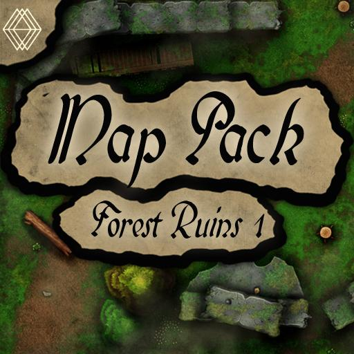 Forest Ruins Pack 1