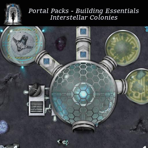 Portal Packs - Building Essentials - Interstellar Colonies