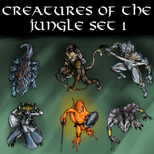 Creatures of the Jungle Set 1