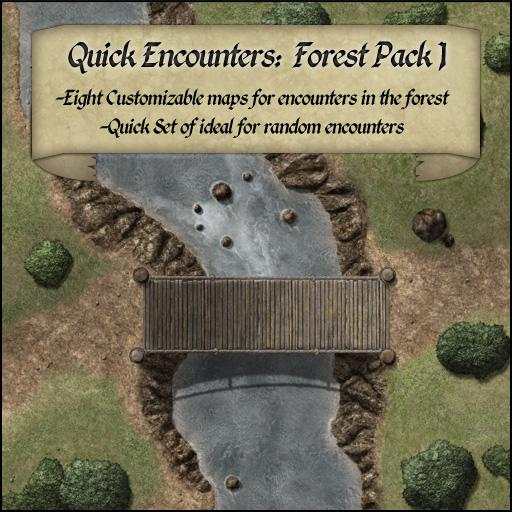 Quick Encounters: Forest Pack 1