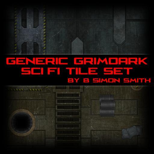 Generic Grimdark Sci Fi Tile Set