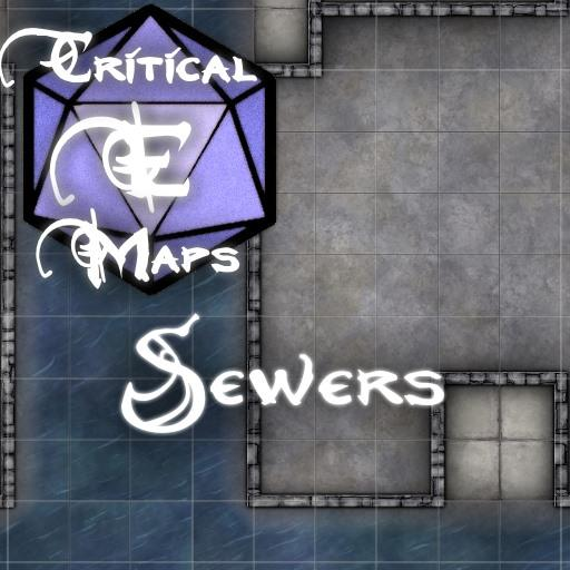 Critical E Maps: Sewers