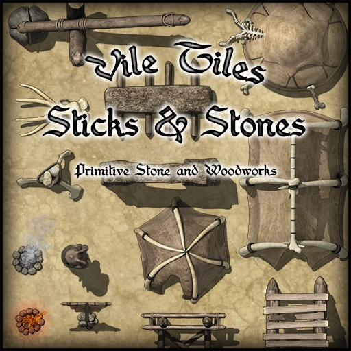 Vile Tiles Sticks & Stones