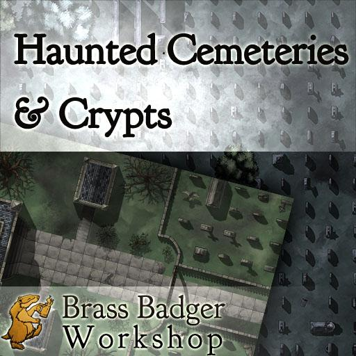 Haunted Cemeteries and Crypts