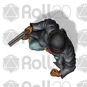Fantasy Steampunk Gunslinger Art