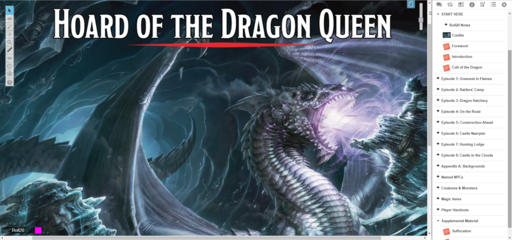 Hoard Of The Dragon Queen Roll20 Marketplace Digital Goods For Online Tabletop Gaming W o l f g a n g b a u r. hoard of the dragon queen roll20