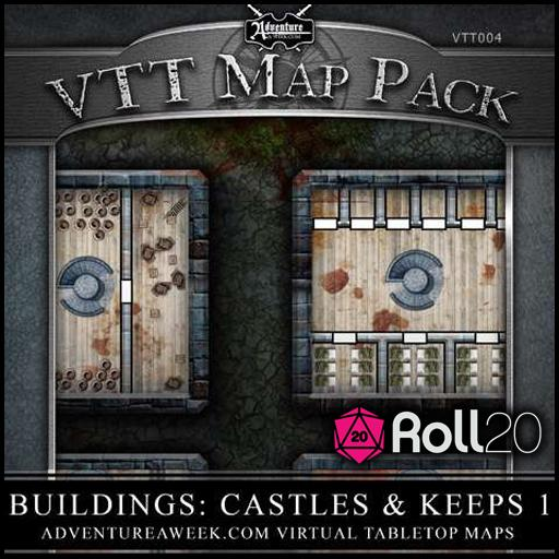 VTT Map Pack 04: Buildings: Castles & Keeps 1