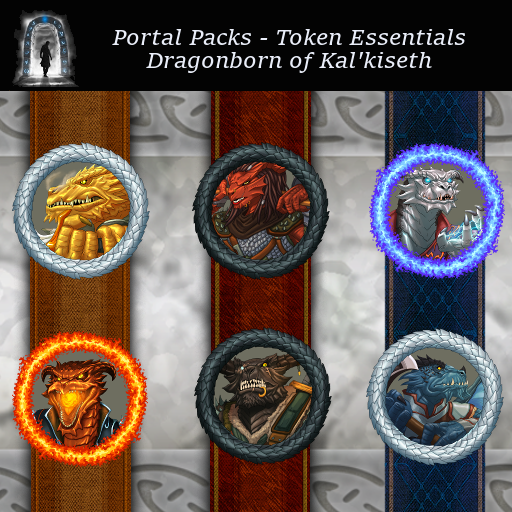 Portal Packs - Token Essentials - Dragonborn of Kal'Kiseth