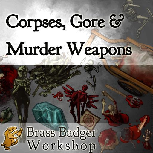 Corpses, Gore & Murder Weapons