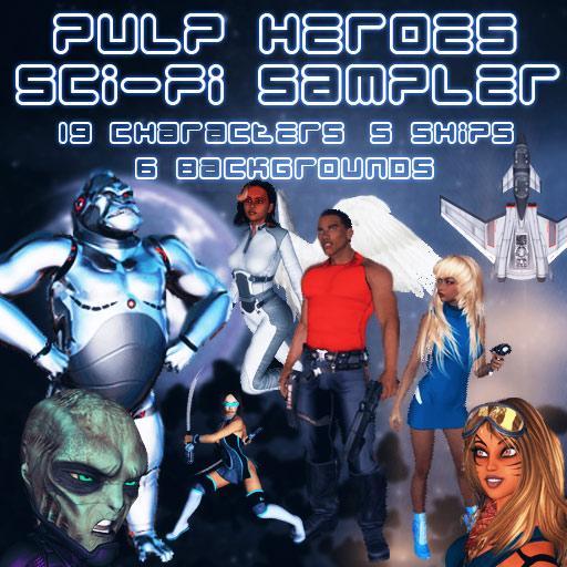 Pulp Heroes: Sci-Fi Sampler