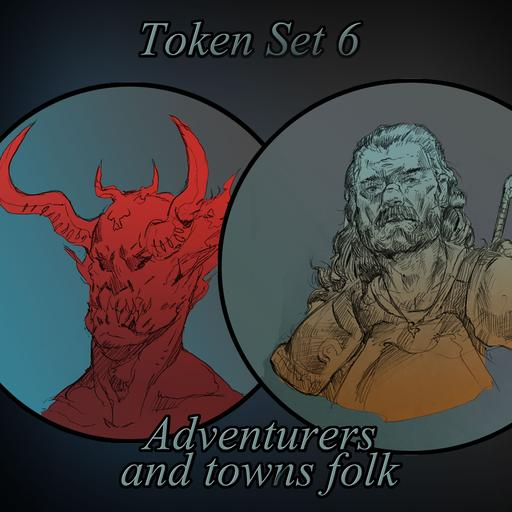 Token Set # 6: Adventurers and Townsfolk