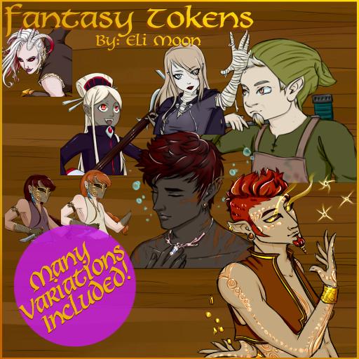 Fantasy Tokens 3
