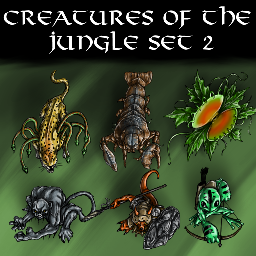 Creatures of the Jungle Set 2