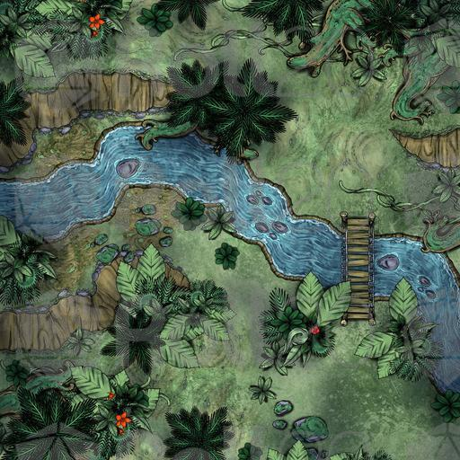 Jungle Asset And Map Pack Roll20 Marketplace Digital