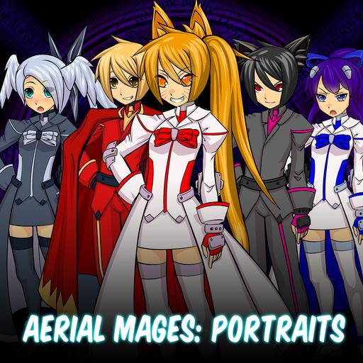 Aerial Mages: Portraits
