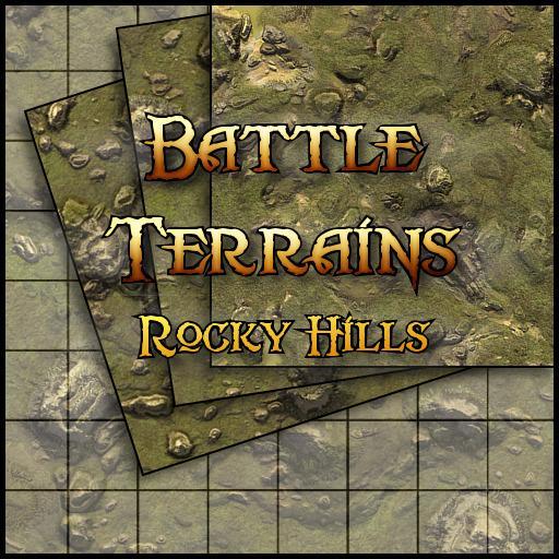 Battle Terrains Rocky Hills