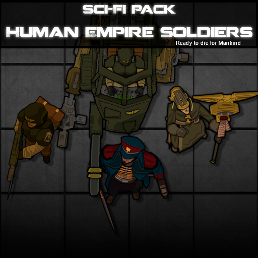 Sci-Fi Pack - Human Empire Soldiers