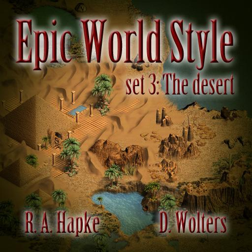 Epic World Style set 3: The desert