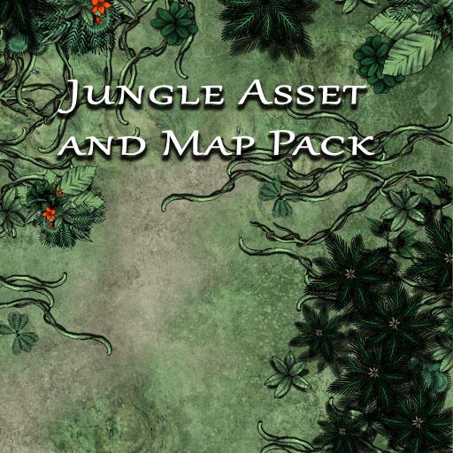 Jungle Asset and Map Pack