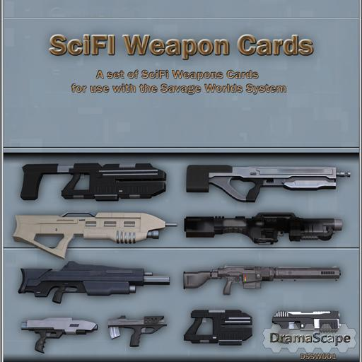 Savage Worlds Weapons & Equipment Cards