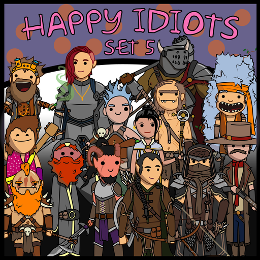Happy Idiots Set 5