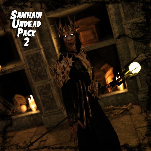 Ddraig Goch's Samhain Undead Pack 2