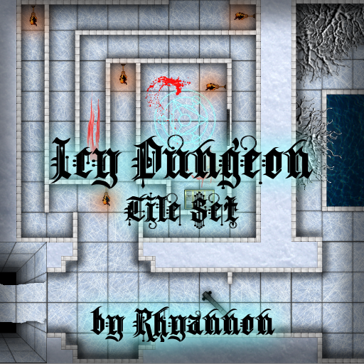 Icy Dungeon Tile Set