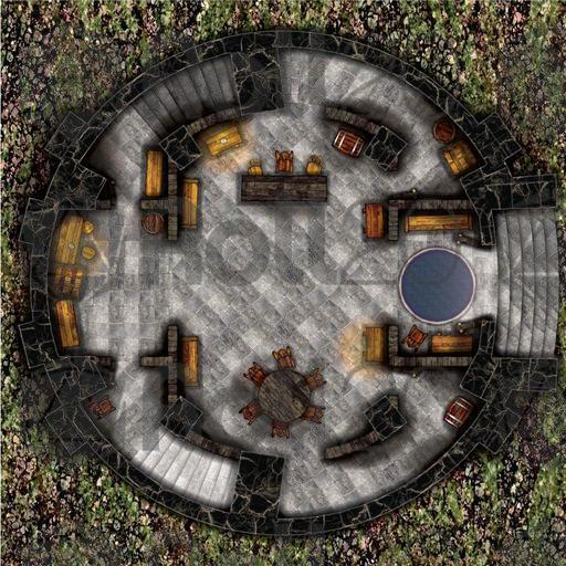 Arcknight Maps The Wizard S Tower Roll20 Marketplace