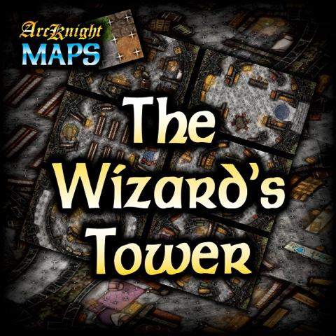 Arcknight Maps : The Wizard's Tower