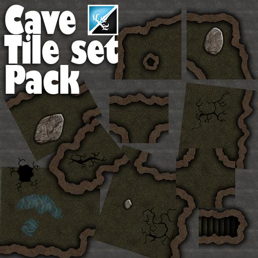 Cave tile set Pack