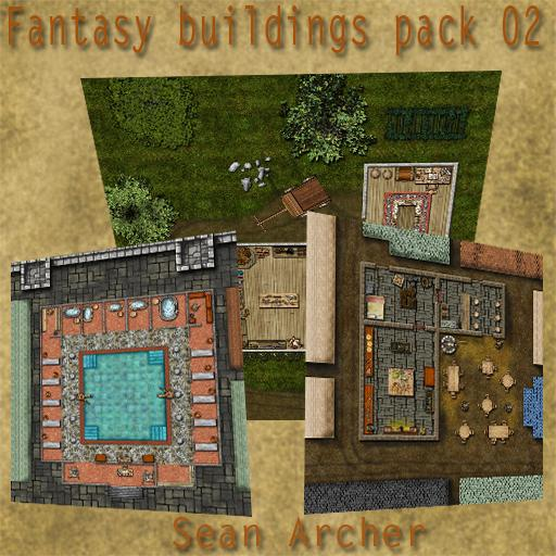 Fantasy Structures Pack 2
