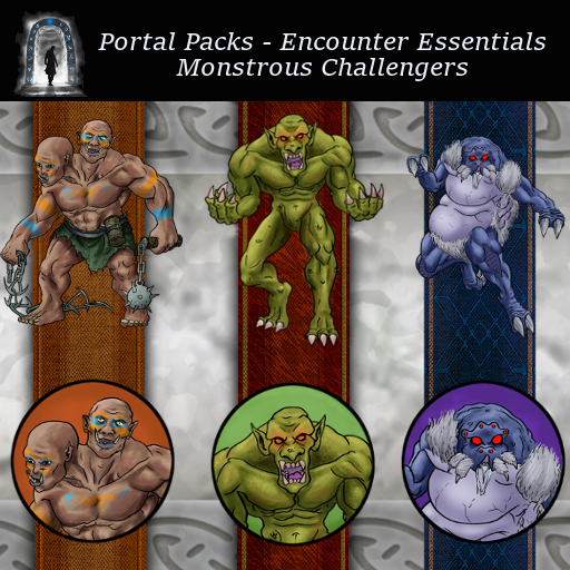 Portal Packs - Encounter Essentials - Monstrous Challengers