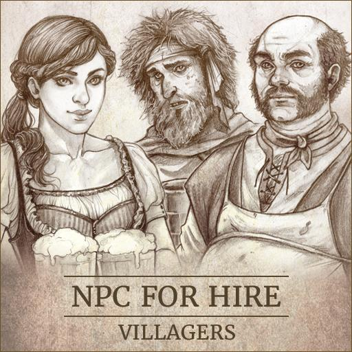 NPC For Hire - Villagers