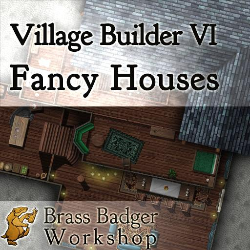 Village Builder IV - Fancy Houses