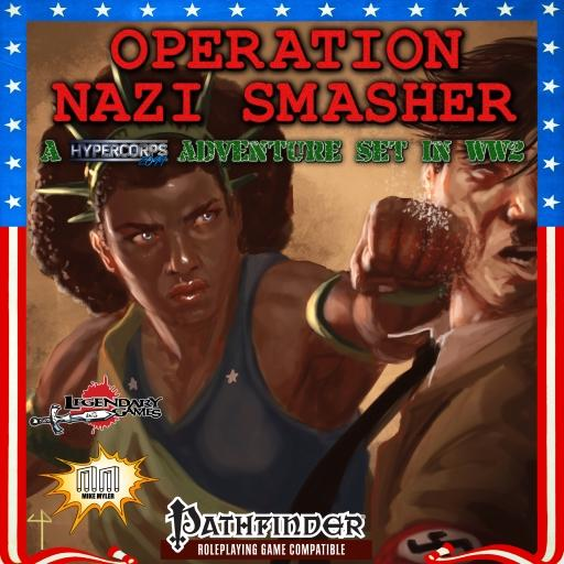 OPERATION: NAZI SMASHER (Charity Product)