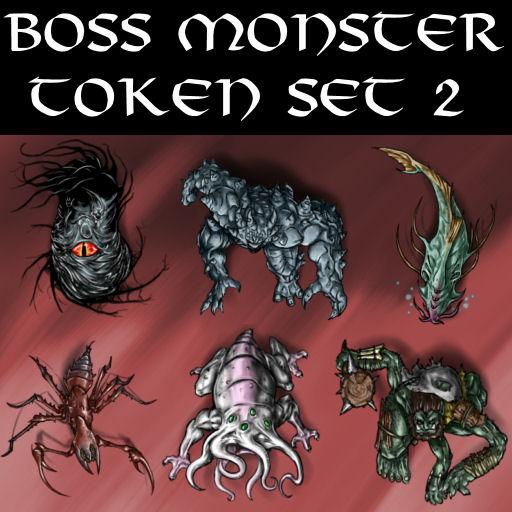 Boss Monster Token Set 2