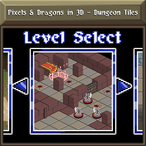 Pixels and Dragons in 3D - Dungeon Tiles
