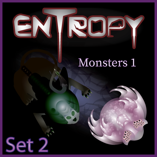 Entropy Sci-Fi Set 2: Monsters 1