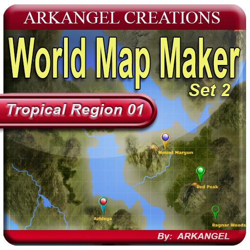 World Map Maker, Set 2: Tropical Region
