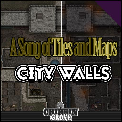 A Song of Tiles and Maps: City Walls