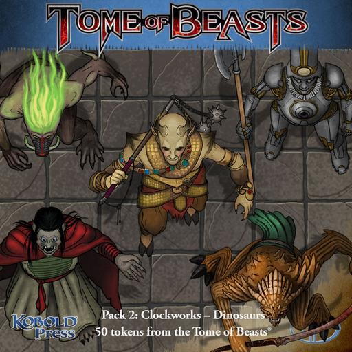Tome of Beasts Pack 2