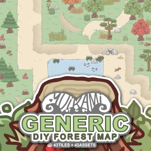 Generic DIY Forest Map