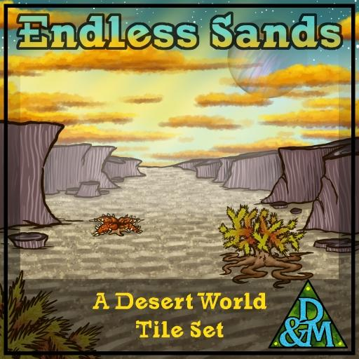 Endless Sands - Terrain Tileset