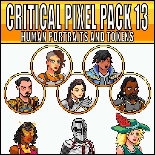Critical Pixel Pack 13