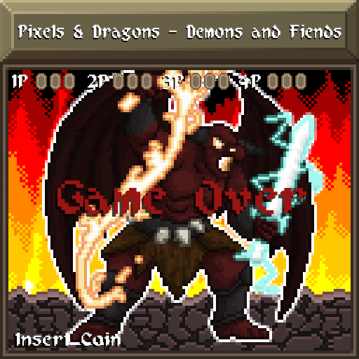 Pixels and Dragons - Demons and Fiends