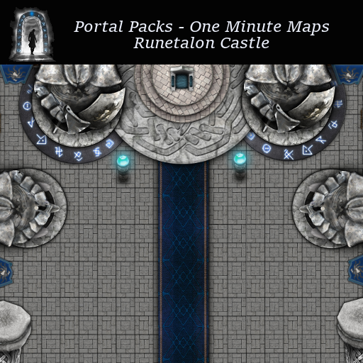 Portal Packs - One Minute Maps - Runetalon Castle